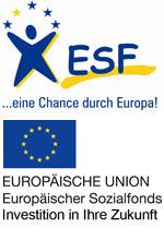 Das Vorhaben wird gefördert aus Mitteln der Europäischen Union (Europäischer Sozialfonds)